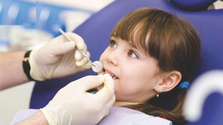 Најчести повреди на млечните заби