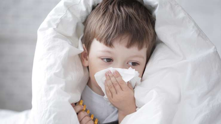 Третман на сезонски настинки во детска возраст