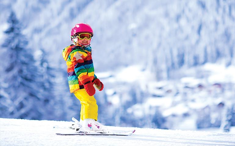 Скијање за деца