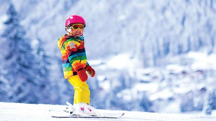 Skijim për fëmijë Dimri në skija – pjesë e gëzimit të rritjes