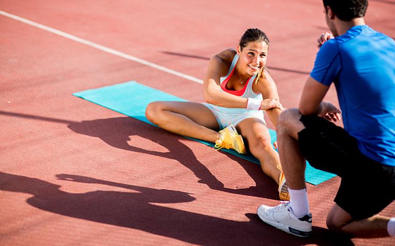 Stërvitje ose ushtrime në çift? A funksionon në realitet?